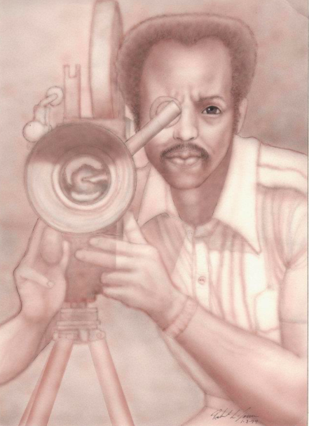Ray Scales, back in the day when everyone knew him as the best television camera man in Arkansas.