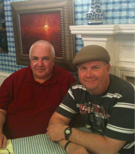 My first meeting with Brad in 2012. We enjoyed brunch at the Blue Plate Cafe in Memphis.